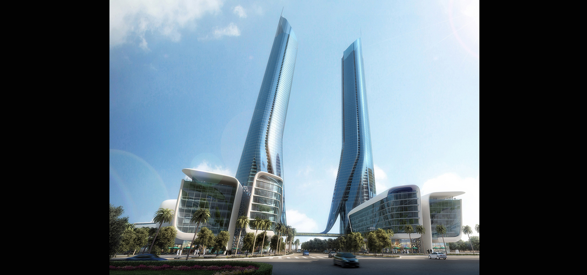 Gateway Towers-Commercial+Coroporate By INI Design Studio