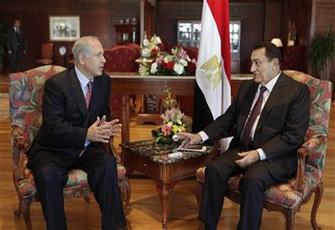 Netanyahu & Mubarak 2009