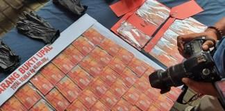 Uang Palsu Rp 40 Juta Siap Edar Digagalkan Polisi Mojokerto