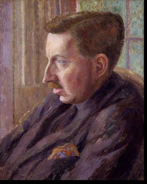 Stock image of writer E. M. Forster