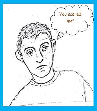 Cartoon of harassed employee