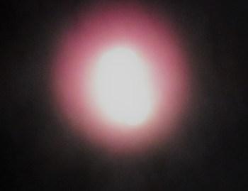 Stylized photo of glowing orb