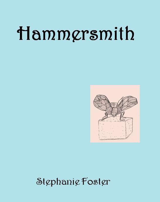 Virtual book cover for novella Hammersmith