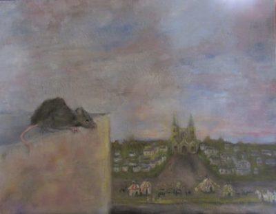 The Impresario signature rat art for part two