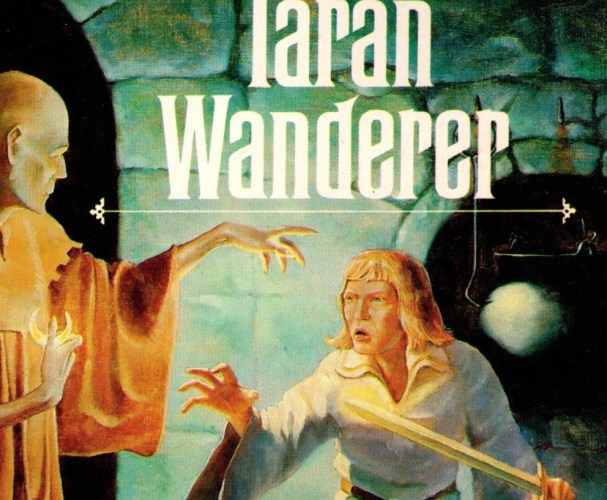 Cameo of book cover, Taran Wanderer