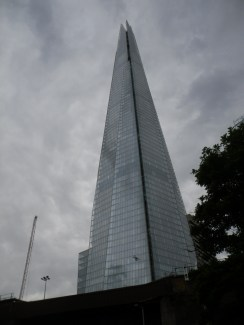 The Shard or as we called it: Godzilla's toothpic