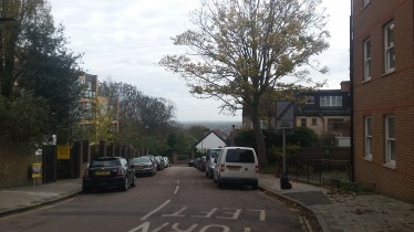 the view from Crystal Palace when we were on our way to the train station