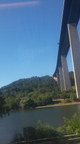 a huge bridge on the way too Koblenz