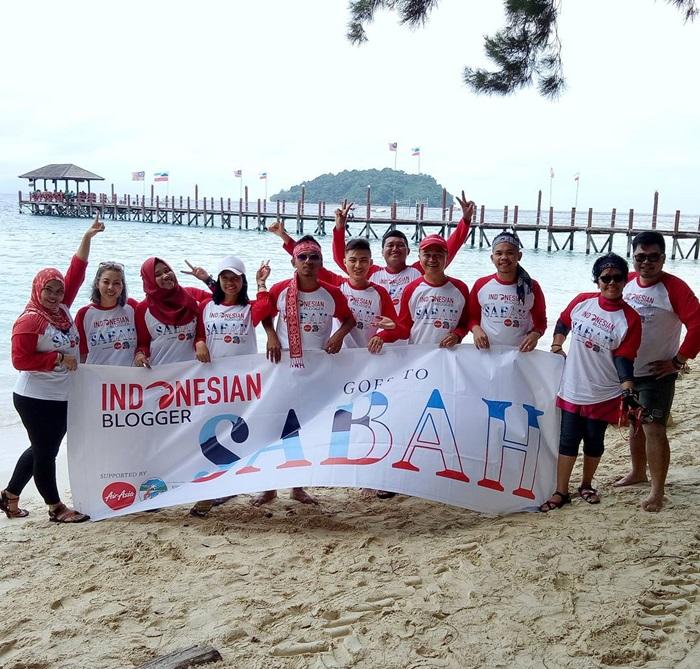 blogger indonesia merdeka jalan jalan ke sabah