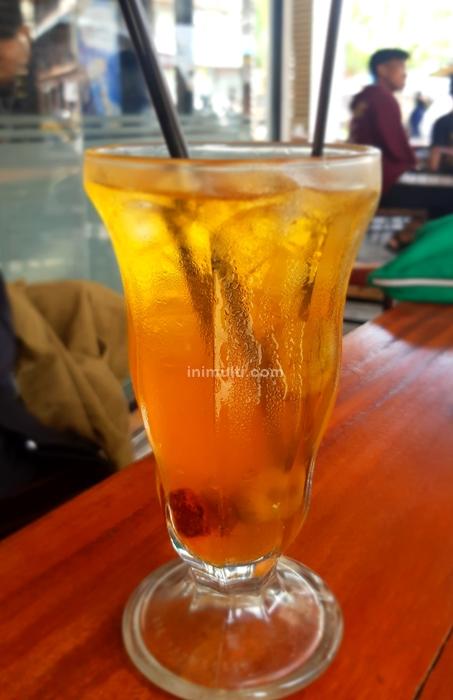 minuman khas singkawang es nammong