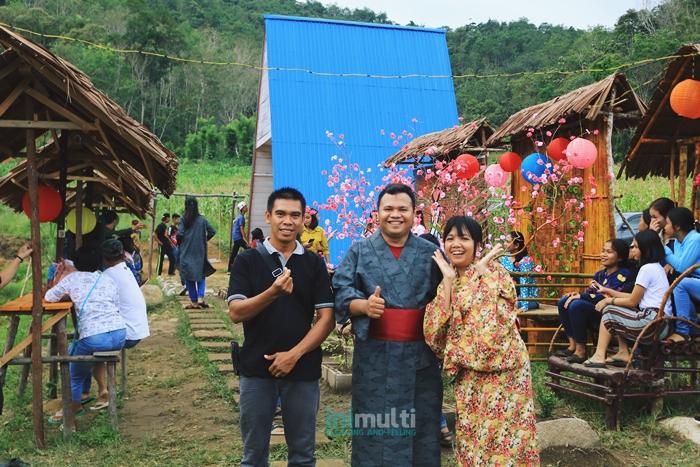 sepeda gantung taman gunung sari