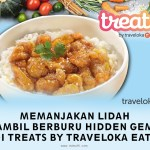 berburu hidden gems di Treats by Traveloka Eats