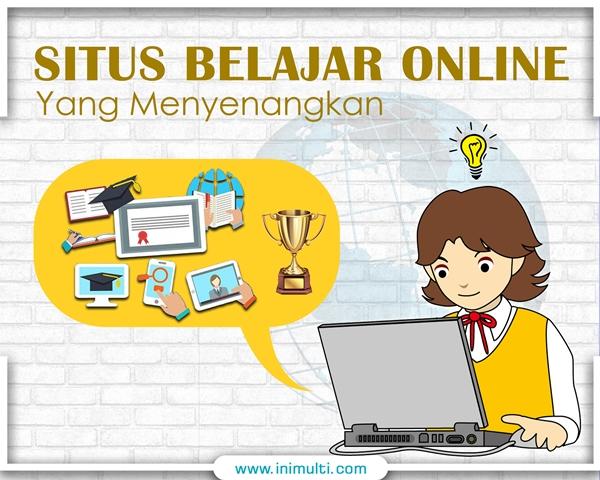 situs belajar online yang menyenangkan