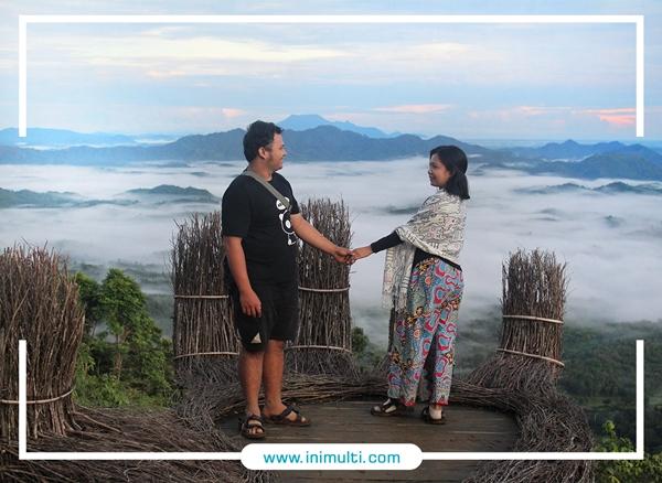wisata bengkayang bukit sepancong