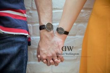 Daniel Wellington手錶 CP值最高的情人節禮物(DW折扣碼yingying)~情侶寫真By Jim's Co Photography