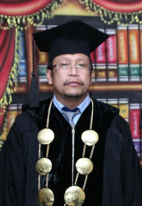 Rektor Universitas Muhammadiyah Luwuk Sulawesi Tengah, ,Farid Haluti, S.Ag, M.Pd,