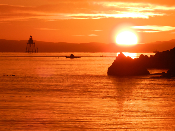 After a battle that has now lasted for 24 years, local residents hope that the sun will finally set on County Council plans to pump sewage into Lough Foyle at Carnagarve.
