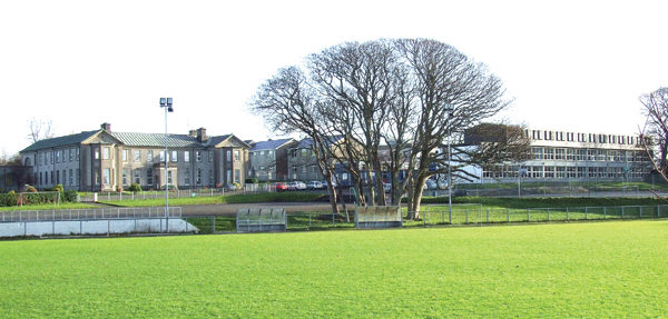 Scoil Mhuire in Buncrana, where the late Mr McCabe taught science and maths
