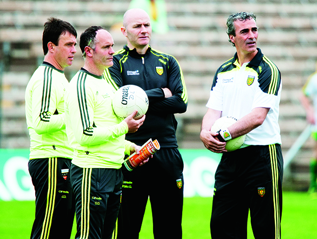 John Duffy, Damien Diver, Paul McGonigle and Jim McGuinness.