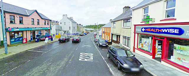 Businesses on Moville's Main Street were affected by the ESB power surge