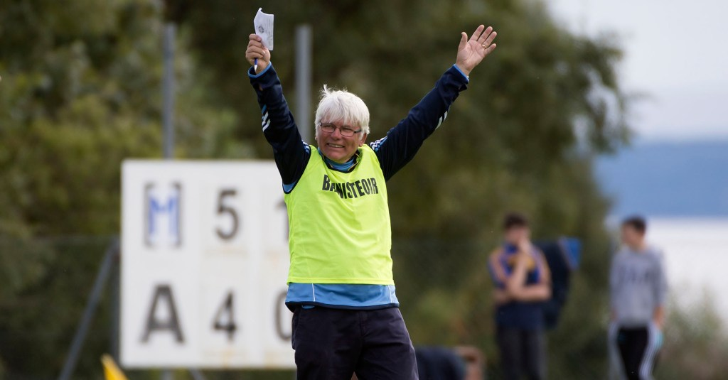 A delighted Jimmy Hegarty after Sunday's final. Photo Evan Logan