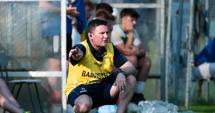 Buncrana manager Gary Duffy. Photo Evan Logan
