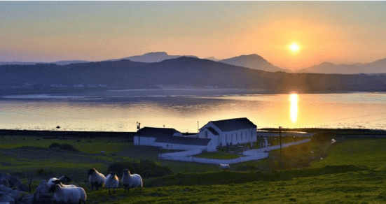 The picturesque Inishowen Peninsula in Ireland