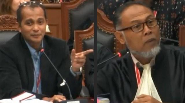 Eddy Hiariej dan Bambang Widjojanto