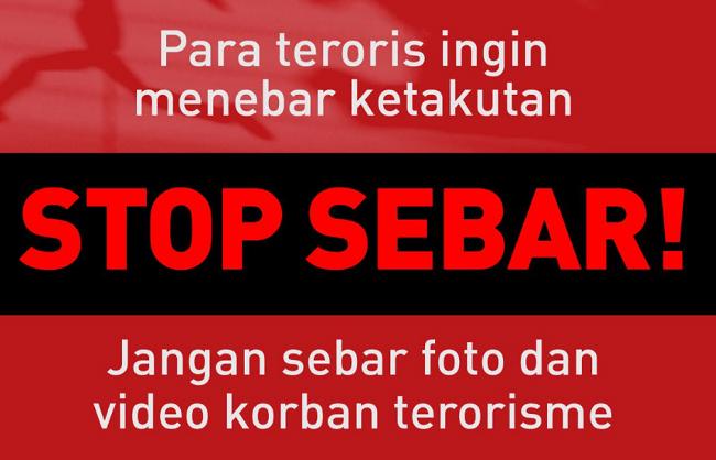 stop share hasil terorisme