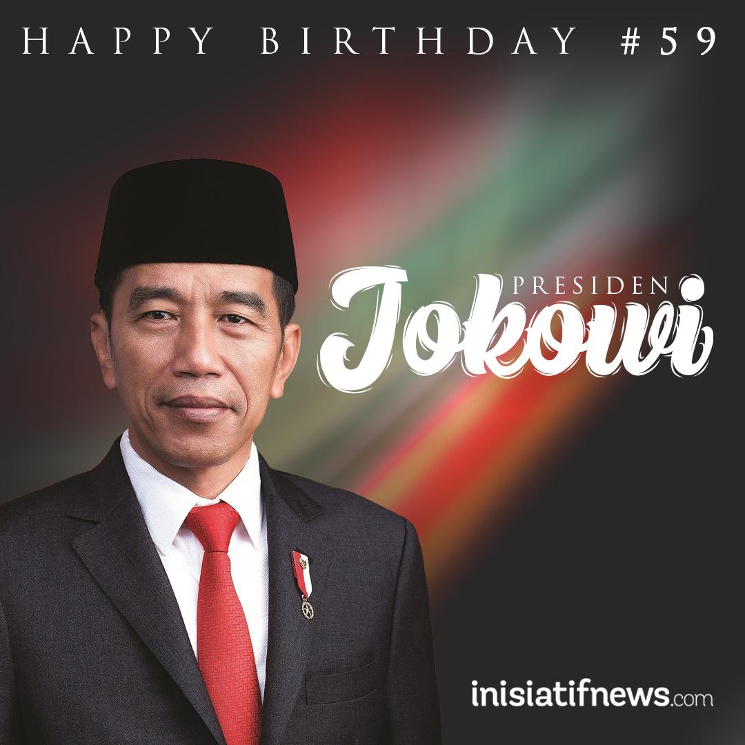 HUT Jokowi