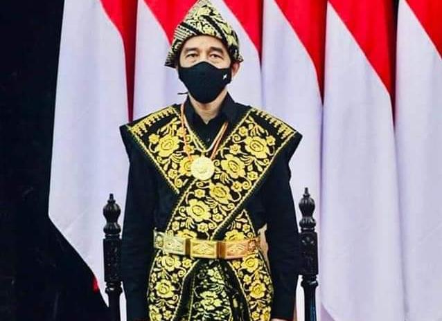Jokowi adat Sabu