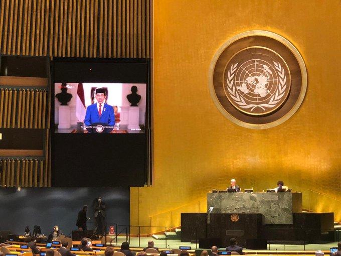 presiden jokowi di sidang PBB