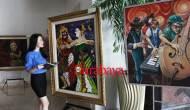 Permalink ke Pelukis se-Jawa Bali Bersatu di Golden Tulip Legacy, Ada Lukisan di Atas Kaca Hingga Karung Goni