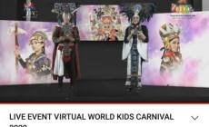 Permalink ke Pertama Kali Digelar Secara Virtual, World Kids Carnival 2020 Hadirkan Kostum Unik 12 Negara Ini