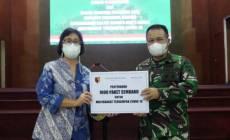 Permalink ke Grand Mercure Surabaya City-Mercure Surabaya Manyar Gandeng Kodam Brawijaya Distribusikan Bantuan Bagi Masyarakat Terdampak Pandemi