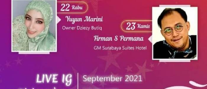 Sapa Sahabat #38 : Bongkar Resep Bertahan Dziezy Butiq dan Kompetisi 'Masak Nasi Goreng JK Duplicate' di Surabaya Suites Hotel