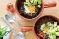 Mince Breakfast bowl