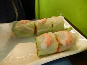 Vietnamese Spring Rolls- before LJ scoffed them! :)
