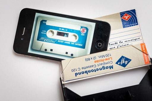 Exemple de photo créative autour de l'évolution technologique.
