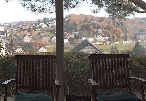 Exemple de prise de vue en contre-jour d'une fenêtre sans déclenchement du flash.