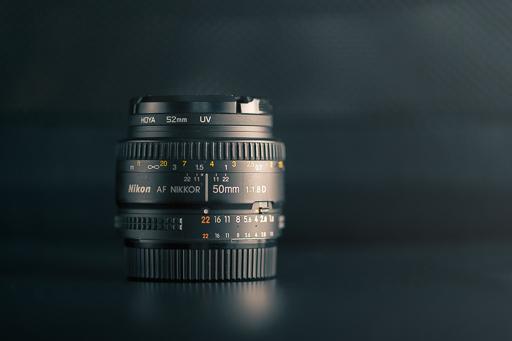 Encore un avantage pour les objectifs à focale fixe de 50 mm