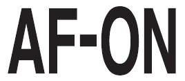 Représentation de la commande de mise au point autofocus sur les boîtiers NIKON