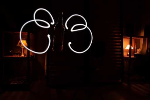 Deuxième image de base pour lightpainting