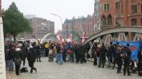 Kundgebung in Hamburg