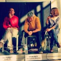 Akli Aliouat (KaIna Tv), Erwan Ruty (Ressources Urbaines) et Mélanie Labesse (Couac)