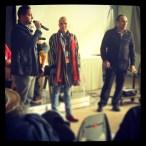 Mourad Hezzi, Nicky Tremblay et Salah Amokrane