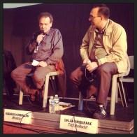 Mogniss H.Abdallah (IM'média) et Salah Amokrane (Tactikollectif)