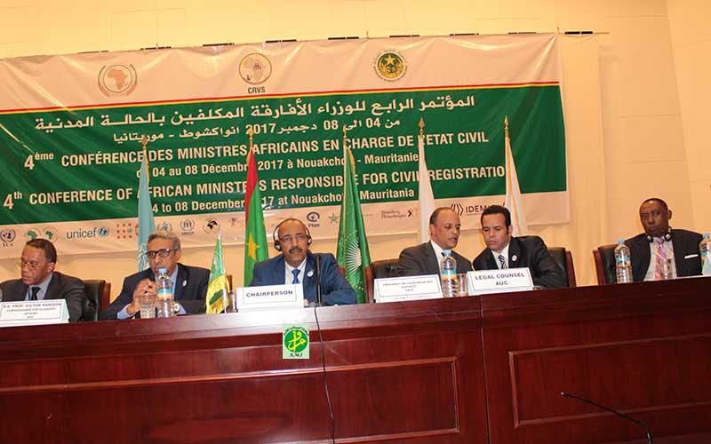 Etat-civil : La Mauritanie se propose d'organiser un atelier de renforcement de capacités en 2018