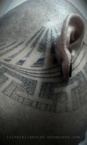 Skrang tattoo Kuching, Borneo. 2014