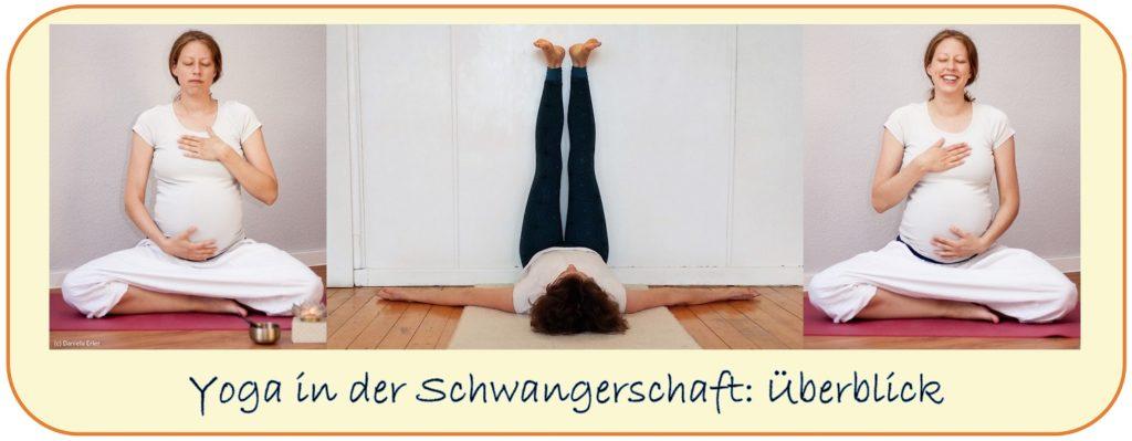Yoga Schwangerschaft worauf achten Überblick